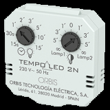 ORBIS TEMPO LED 2N ~ Automatic Stairway Switches